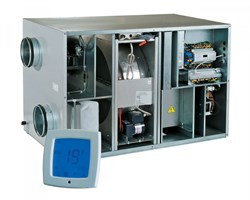 Vents ВУТ Р 1500 ЭГ ЕС с LCD (Приточно-вытяжная установка) - фото 4667