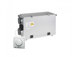 Приточно-вытяжная установка Vents ВУТ 200 Г мини (пластинчатый рекуператор) - фото 4678